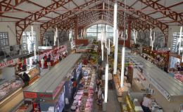 Covered market of Biarritz